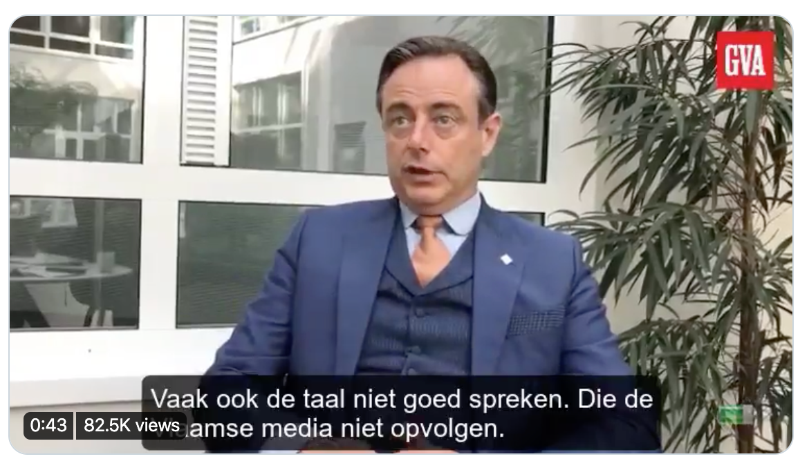 Screenshot De Wever